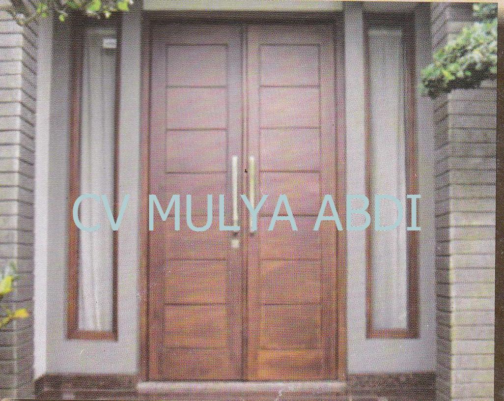 kusen pintu jendela minimalis 15 salah satu contoh bentuk kusen pintu