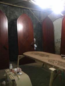 Pekerjaan Pintu Kusen Mesjid di Malaysia