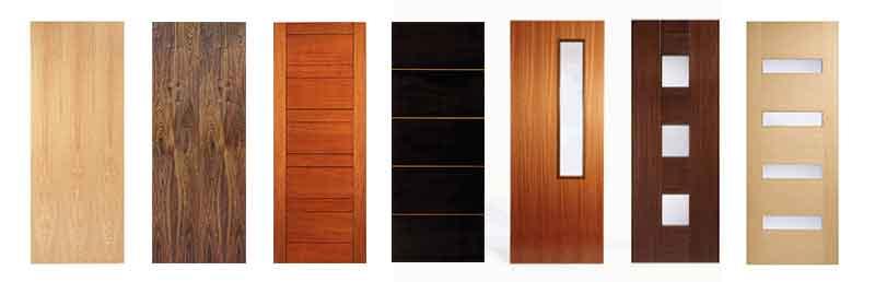 Pintu Lapis Plywood - Kusen pintu jendela Kayu Minimalis