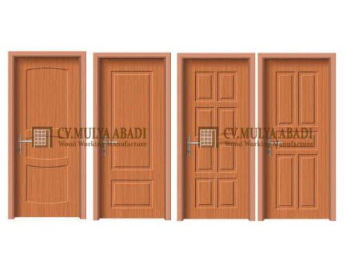 Harga Pintu Panel Berdasarkan Jenis Kayu