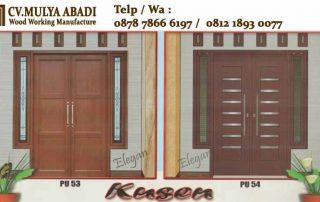 harga kusen pintu kayu di Serang Cilegon