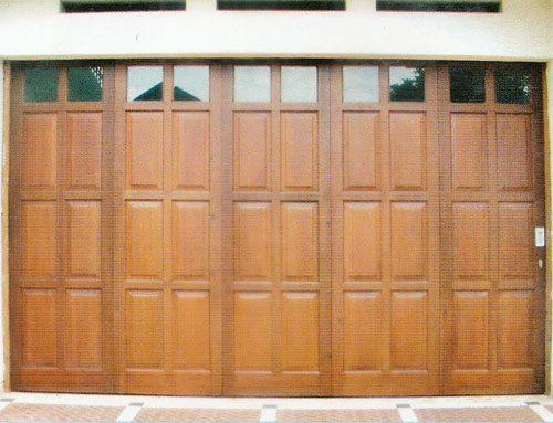 Manfaat Pintu Garasi Kayu