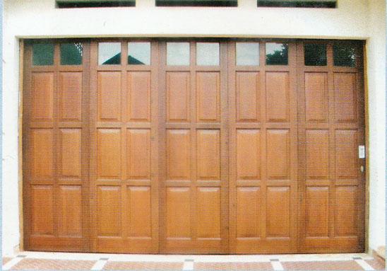 Pintu Garasi kayu kp320