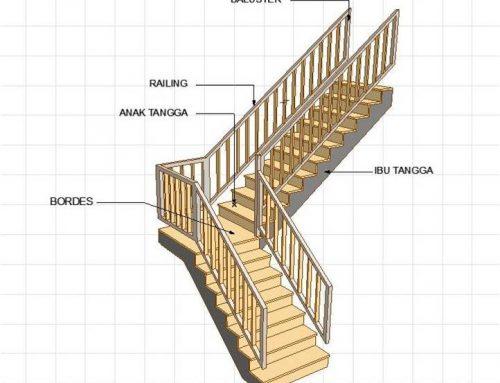 Hal yang perlu diperhatikan dalam membangun tangga kayu