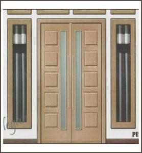 Model Pintu Minimalis 2 Pintu