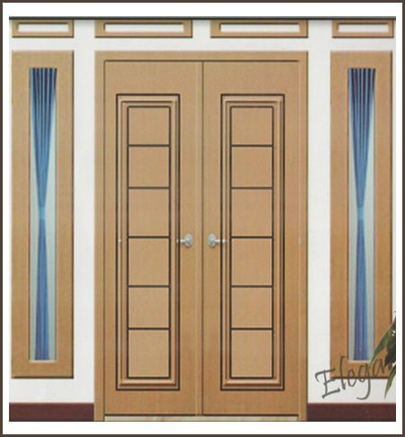12 inspirasi model pintu minimalis terbaru