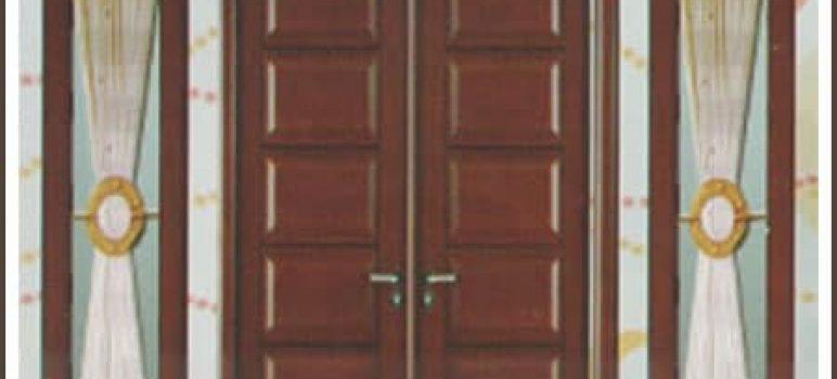 Harga Pintu Minimalis Kayu Kamper